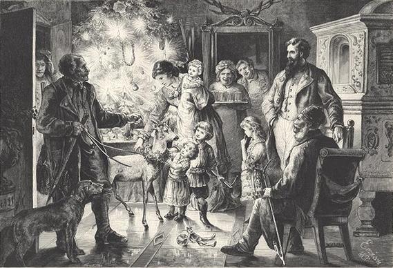 Weihnachtsbilder Jpg.File Conrad Ermisch Weihnachtsbild 1881 Jpg Wikimedia Commons