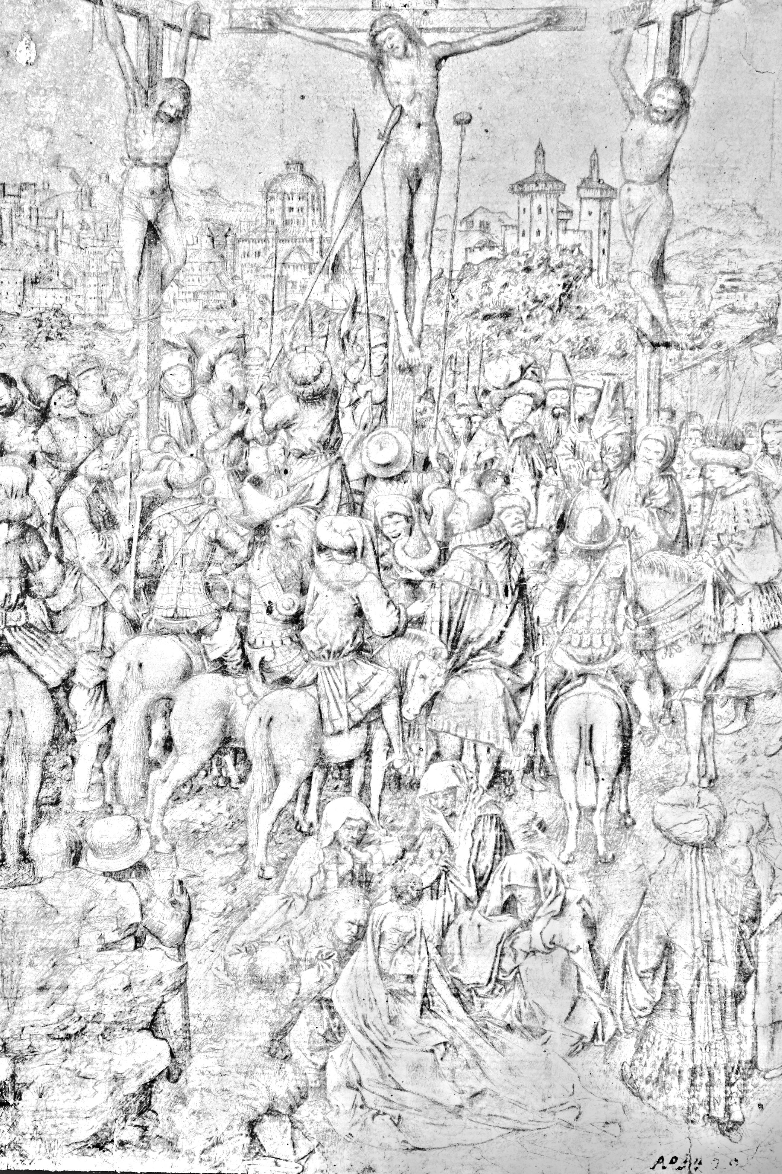 Van Eyck Drawings Workshop of Jan Van Eyck