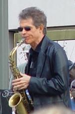 Photo of David Sanborn in concert in San Franc...