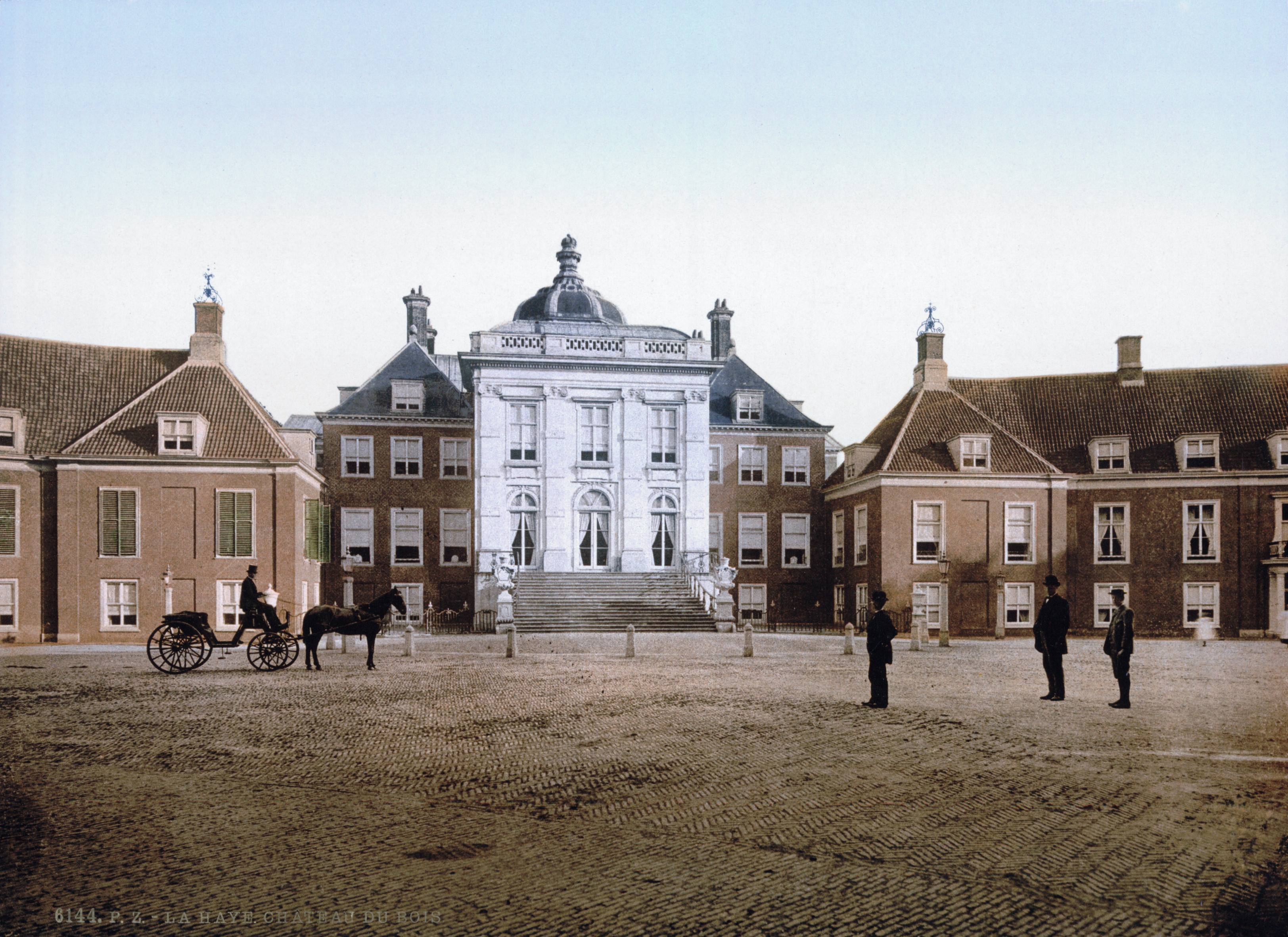 Description den haag - huis ten bosch 1900