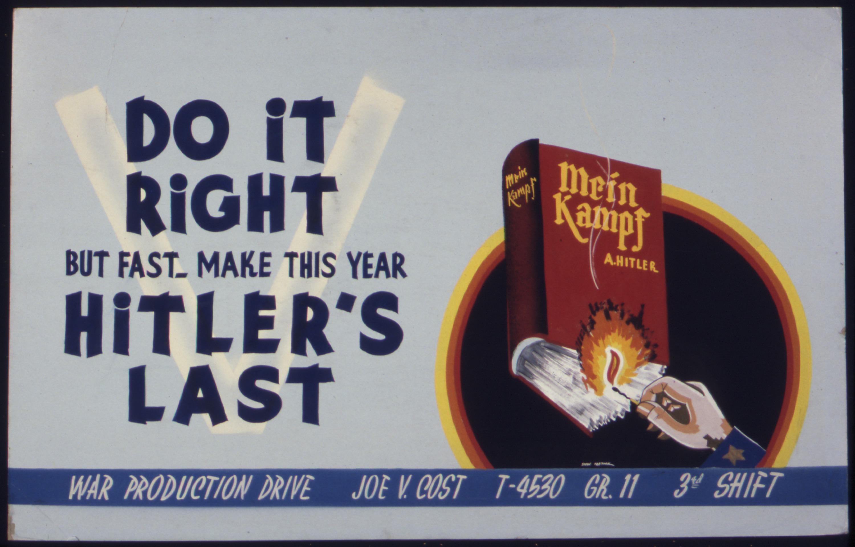 U. S. Poster, 1942