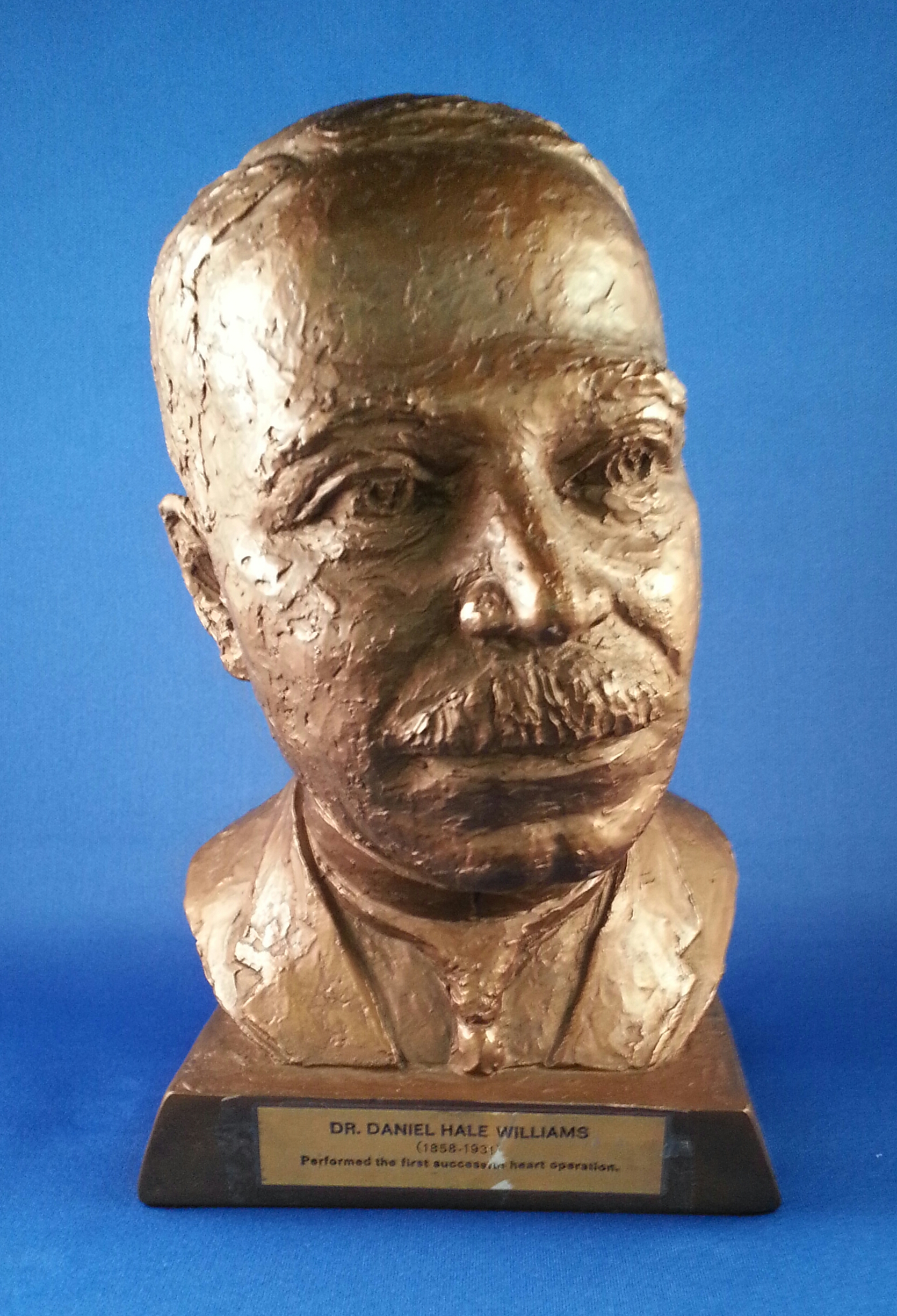 Bust of Dr. Daniel Hale Williams