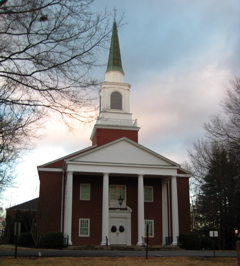 Enon Baptist Church as it looks today