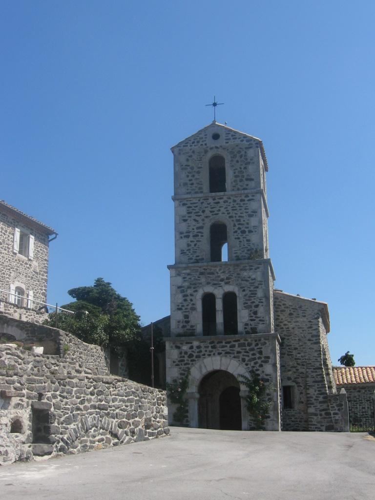 Eglise de St Laurent en Coiron.JPG