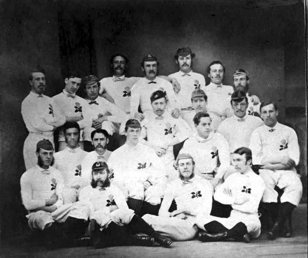 heirstnglandeam,1871,inthe1stinternational,vscotlandindinburgh.
