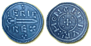 Coin from Eric Bloodaxe's reign EricBloodaxeCoin.png