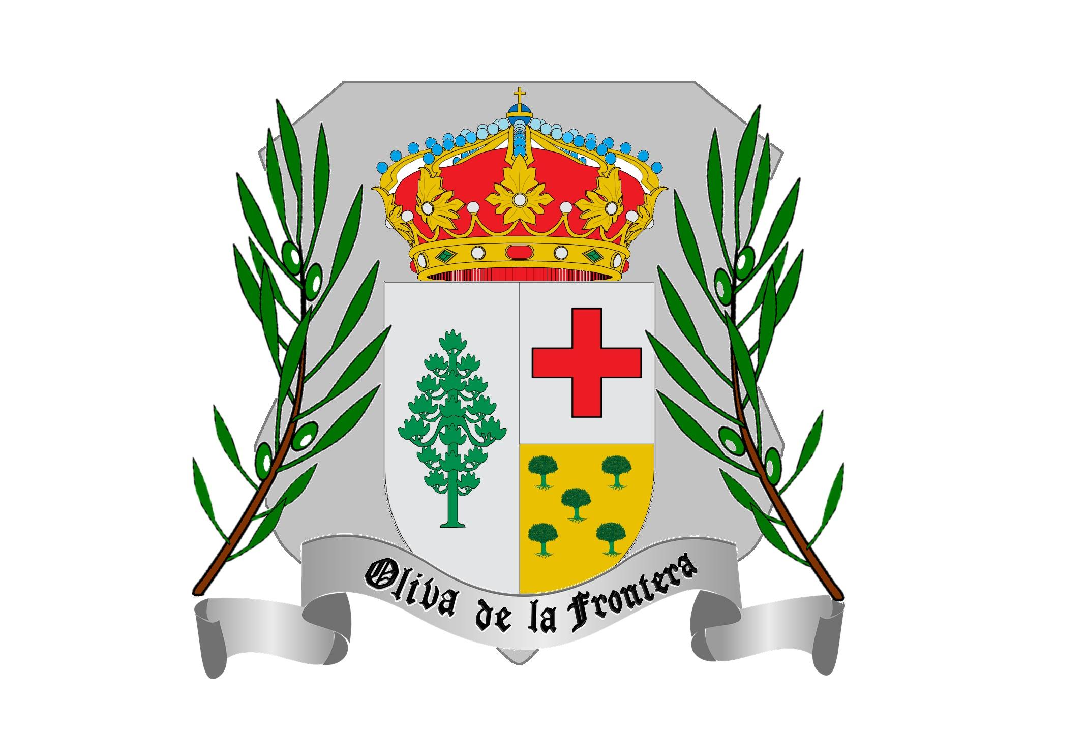 Escudo de Oliva de la Frontera