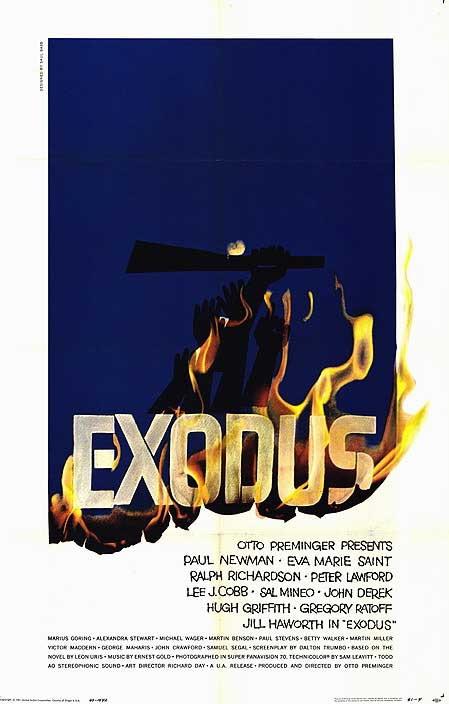 Risultati immagini per Exodus newman locandina