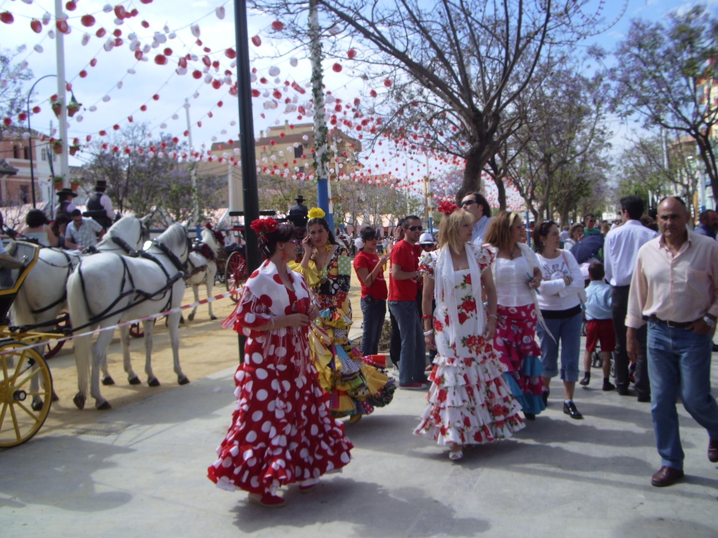 Sanlucar de Barrameda Spain  city photo : Feria de la Manzanilla, Sanlúcar de Barrameda, mayo 2009 ...