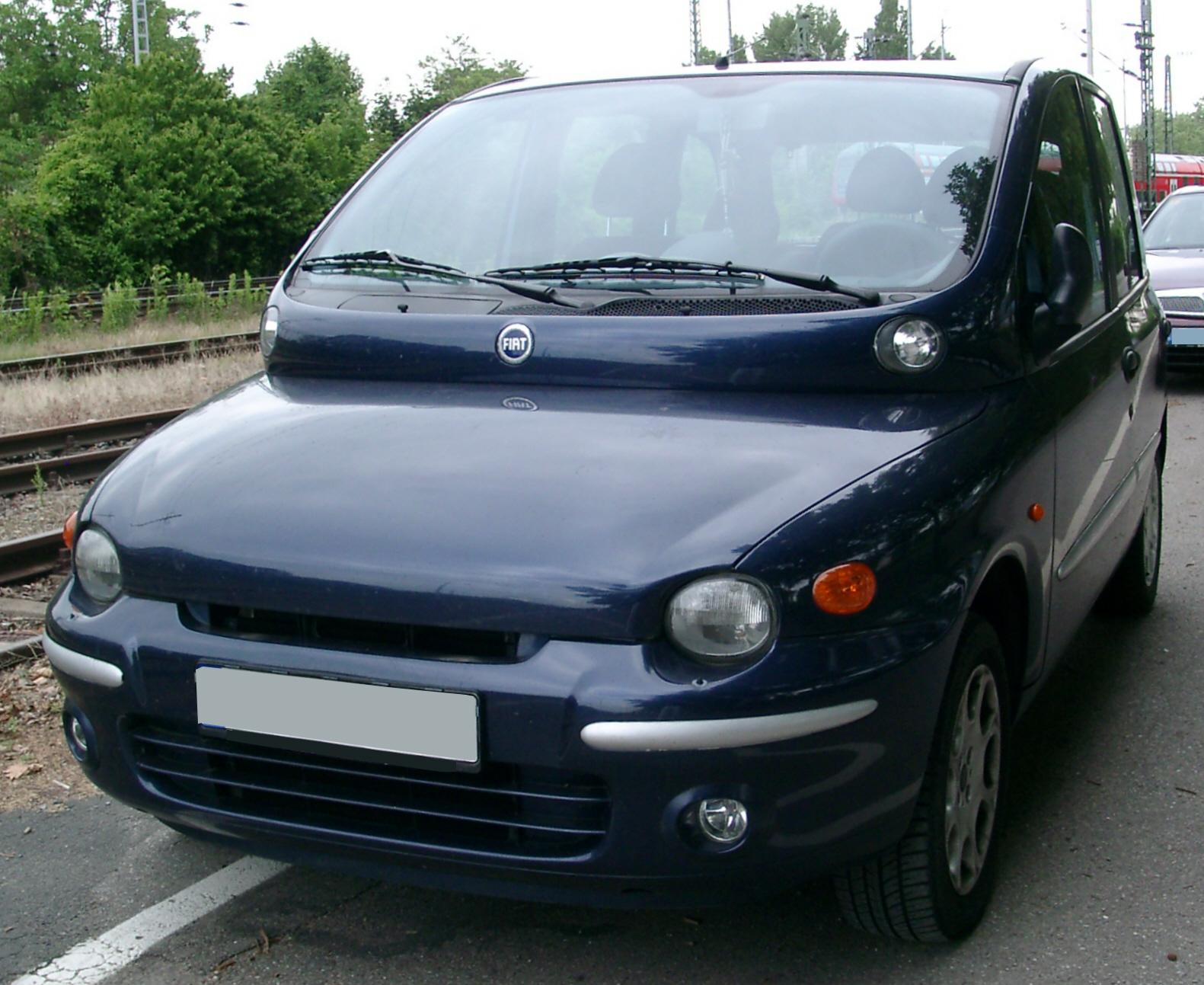 File fiat multipla front for Interieur fiat multipla