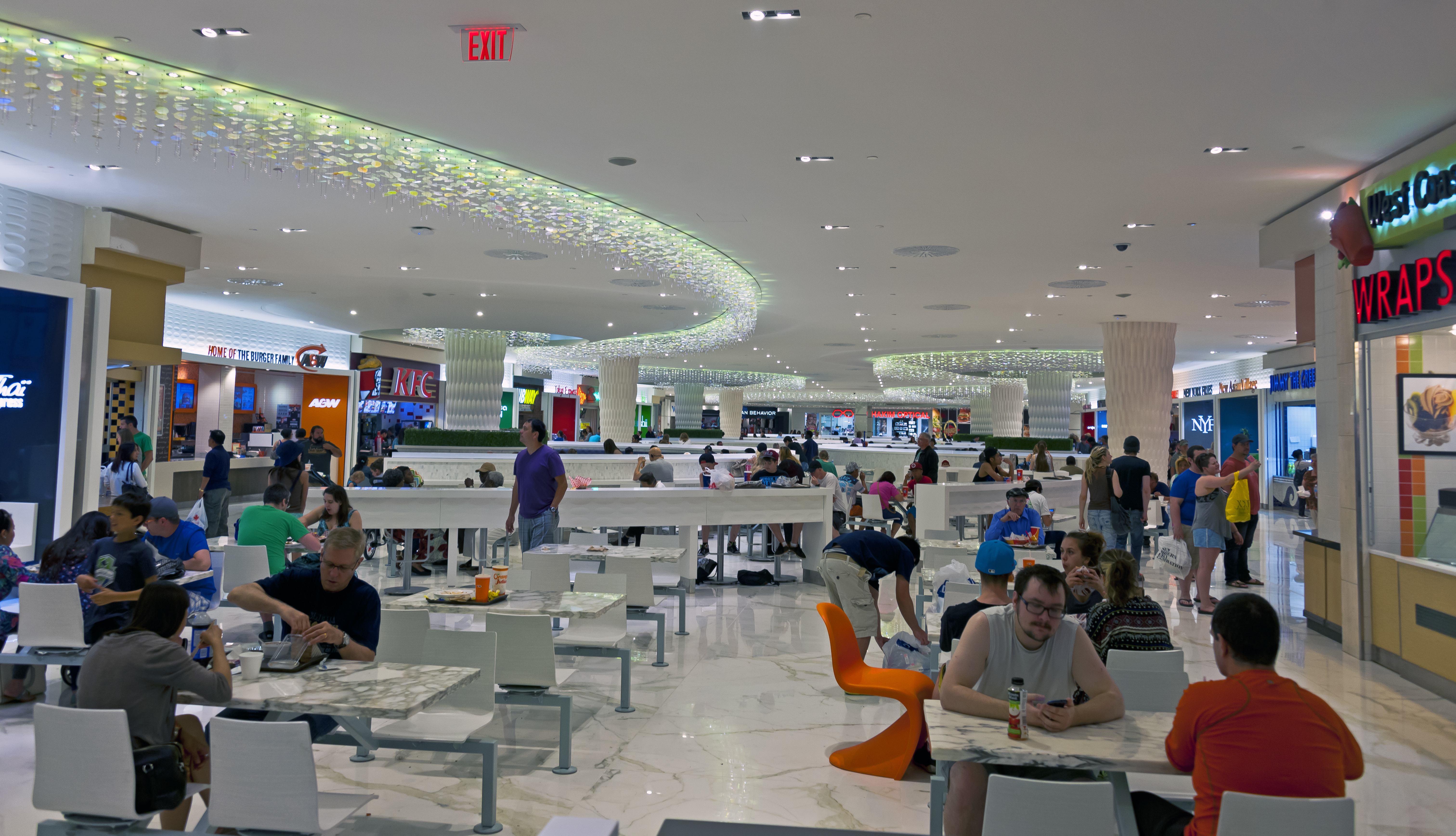 File Food Court Restaurants And Seating Area West Edmonton Mall Jpg
