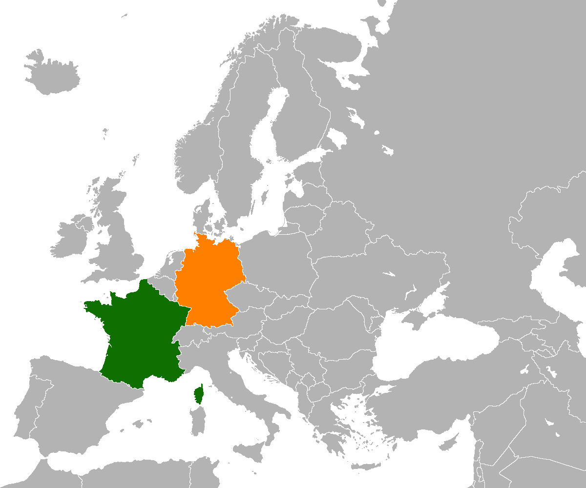 FranceGermany relations  Wikipedia