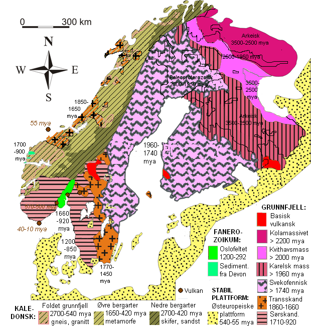 Geology Of Norway Wikipedia - Norway map wiki