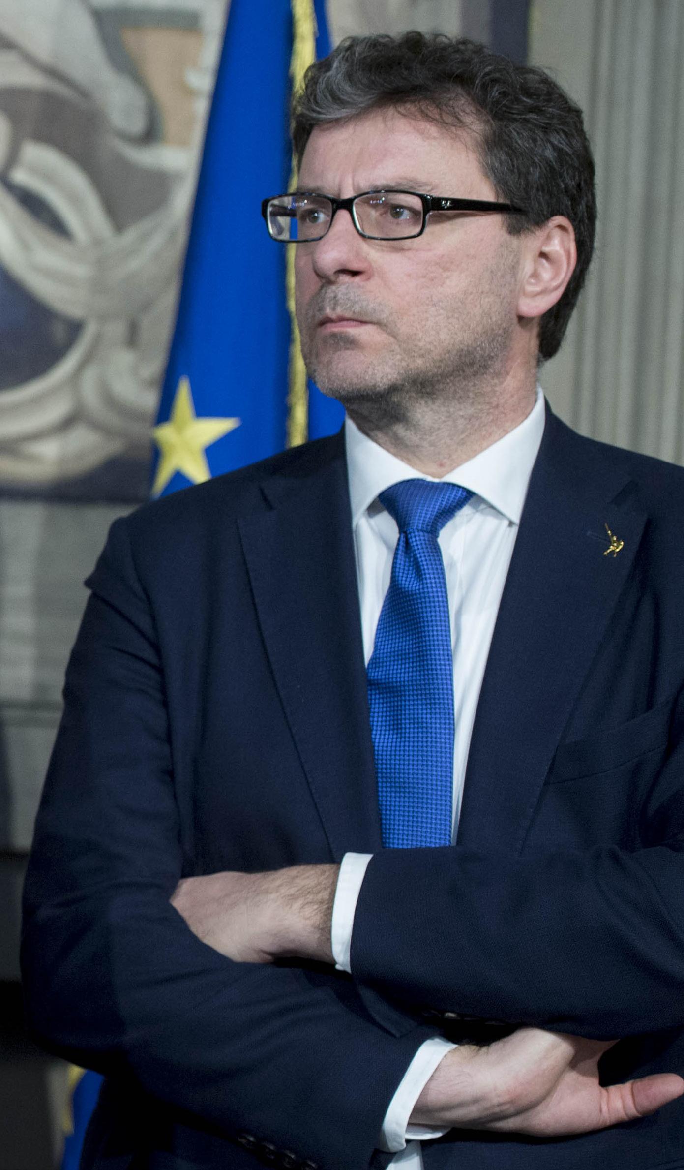Giancarlo Giorgetti - Wikipedia