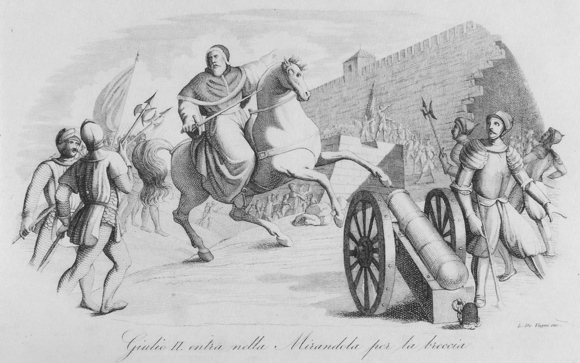 Giulio II entra nella Mirandola per la breccia.jpg