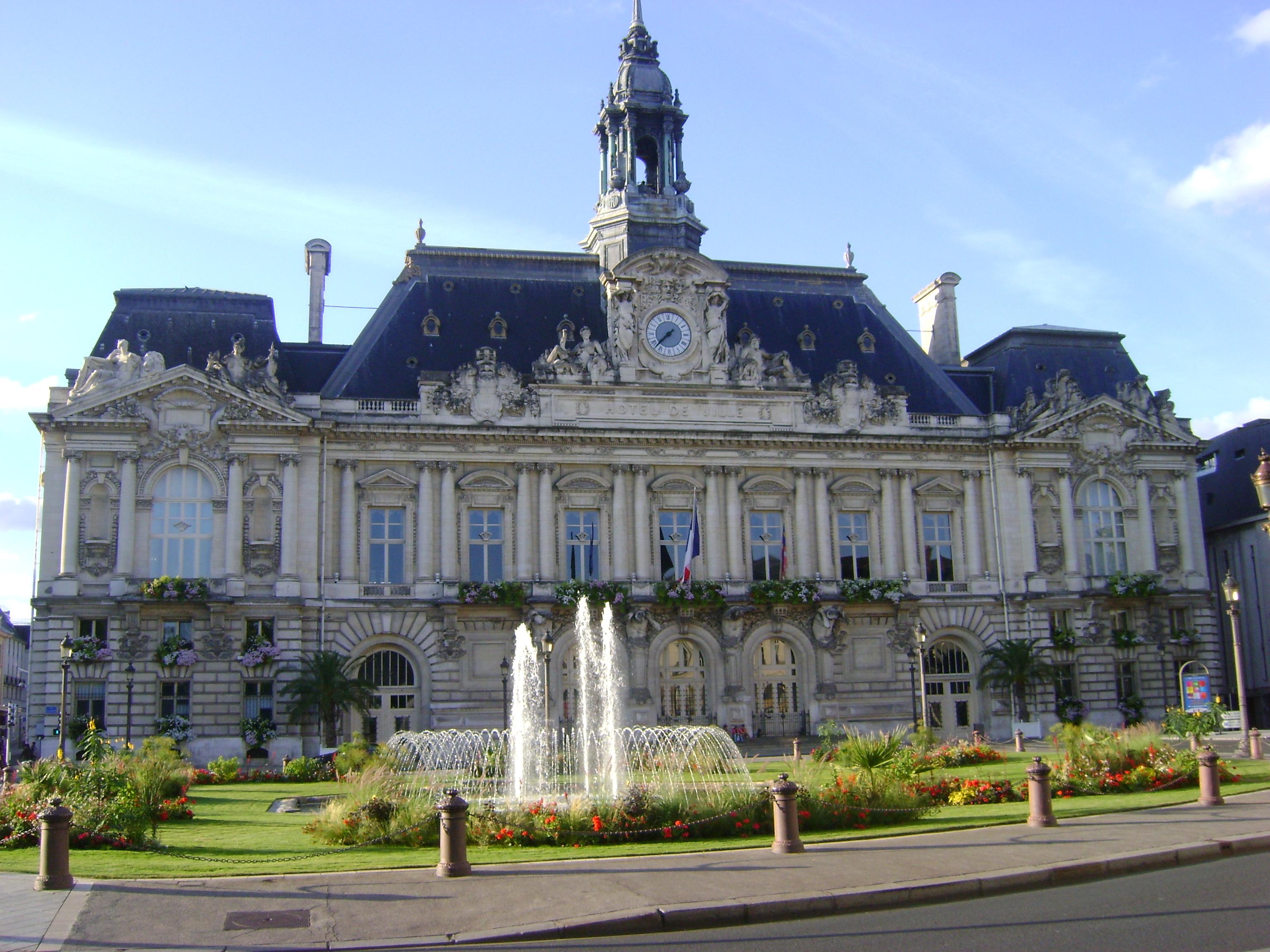 File h tel de ville de tours wikimedia commons for Hotels tours