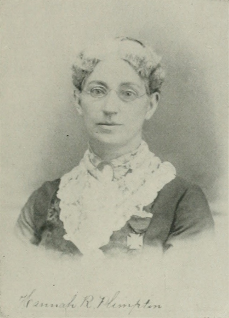 HANNAH R. COPE PLIMPTON A woman of the century (page 585 crop).jpg