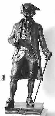 The bronze statue of Hanson in the National Statuary Hall Collection
