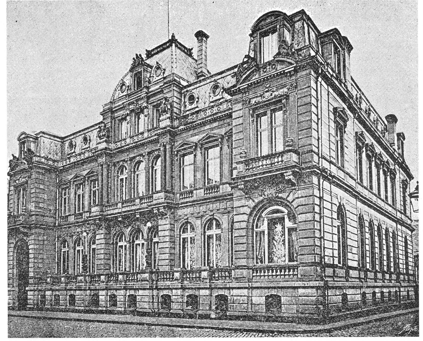 file haus eduard von oppenheim unter sachsenhausen 37 in k ln 1870 architekten wilhelm. Black Bedroom Furniture Sets. Home Design Ideas