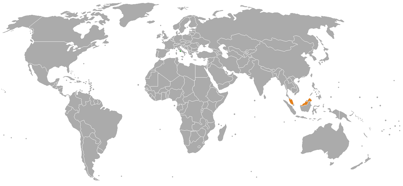 Malaysia On The World Map.File Holy See Malaysia Locator Png Wikimedia Commons