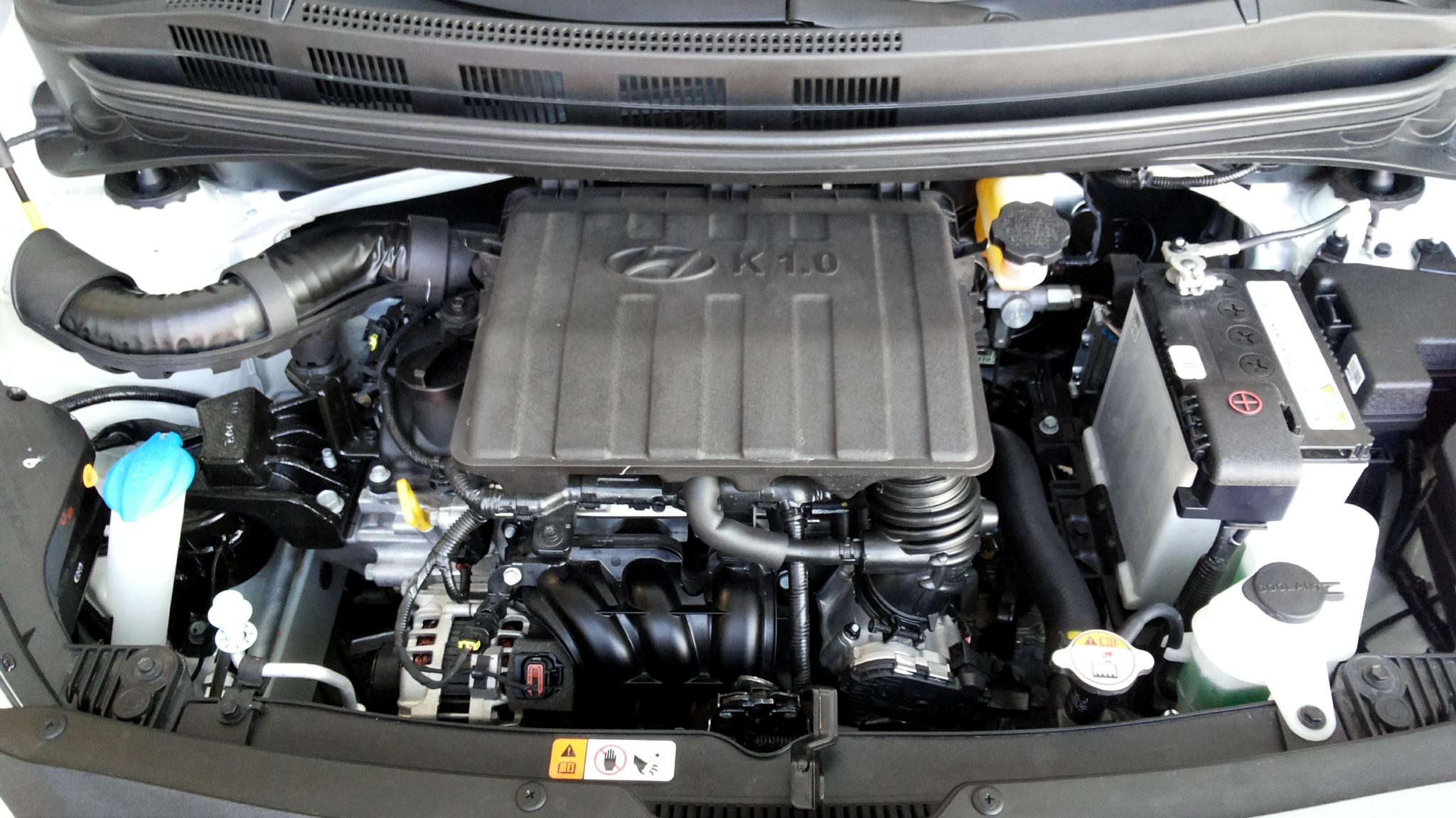 File Hyundai Grand I10 1 0 E Engine Jpg Wikimedia Commons