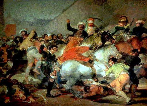 Fichier: Il 2 maggio 1808 (Francisco Goya) .jpg