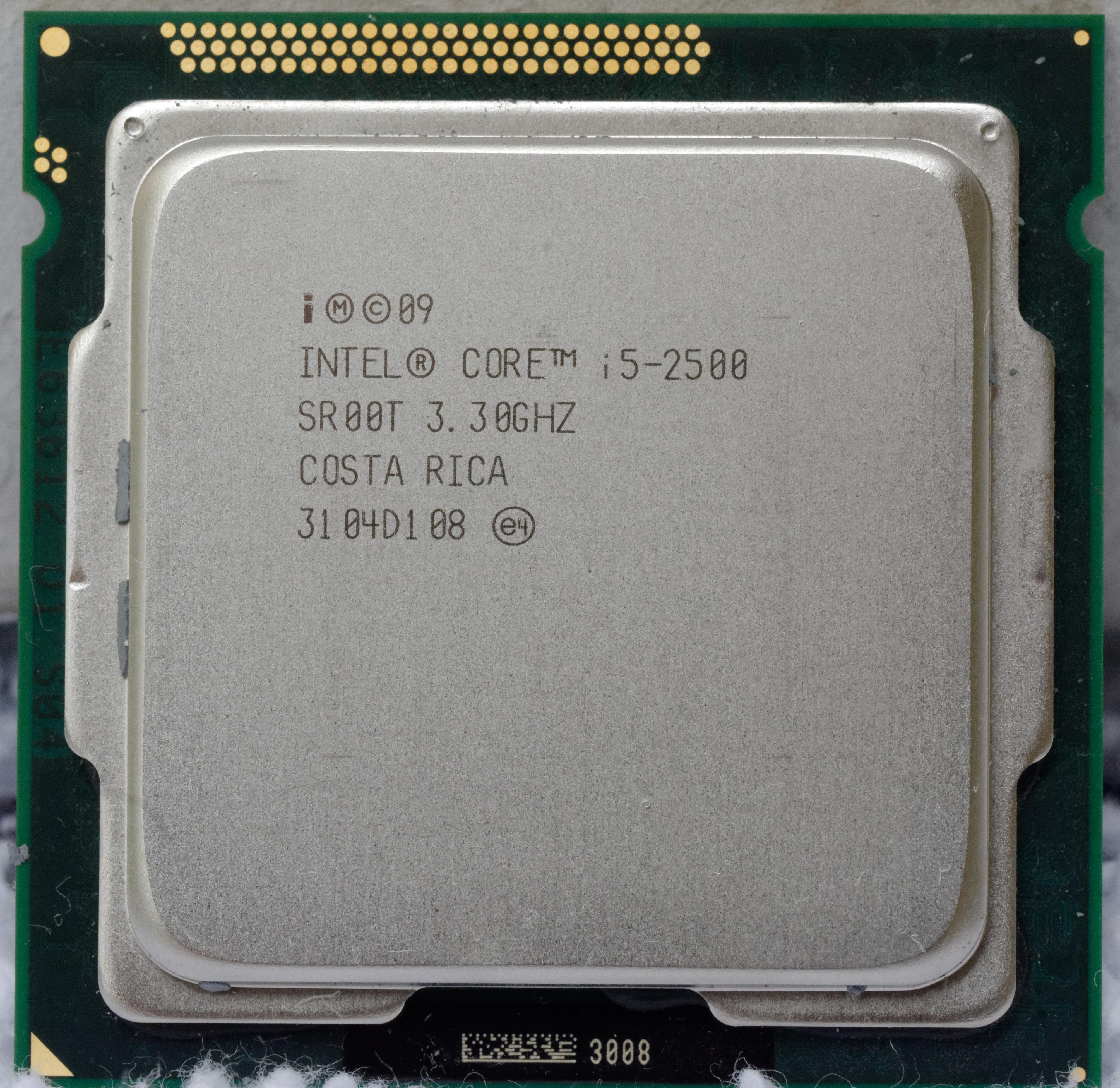 CM8062301091201 Processor Intel Core i5-2400S 2.5GHz Quad-Core SR00S