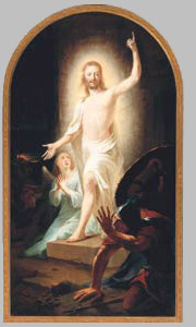 The Resurrection—Tischbein, 1778.