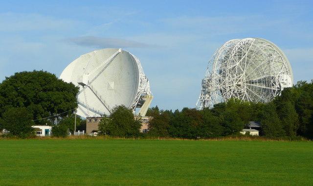 Jodrell Bank Radio Telescopes - geograph.org.uk - 949709
