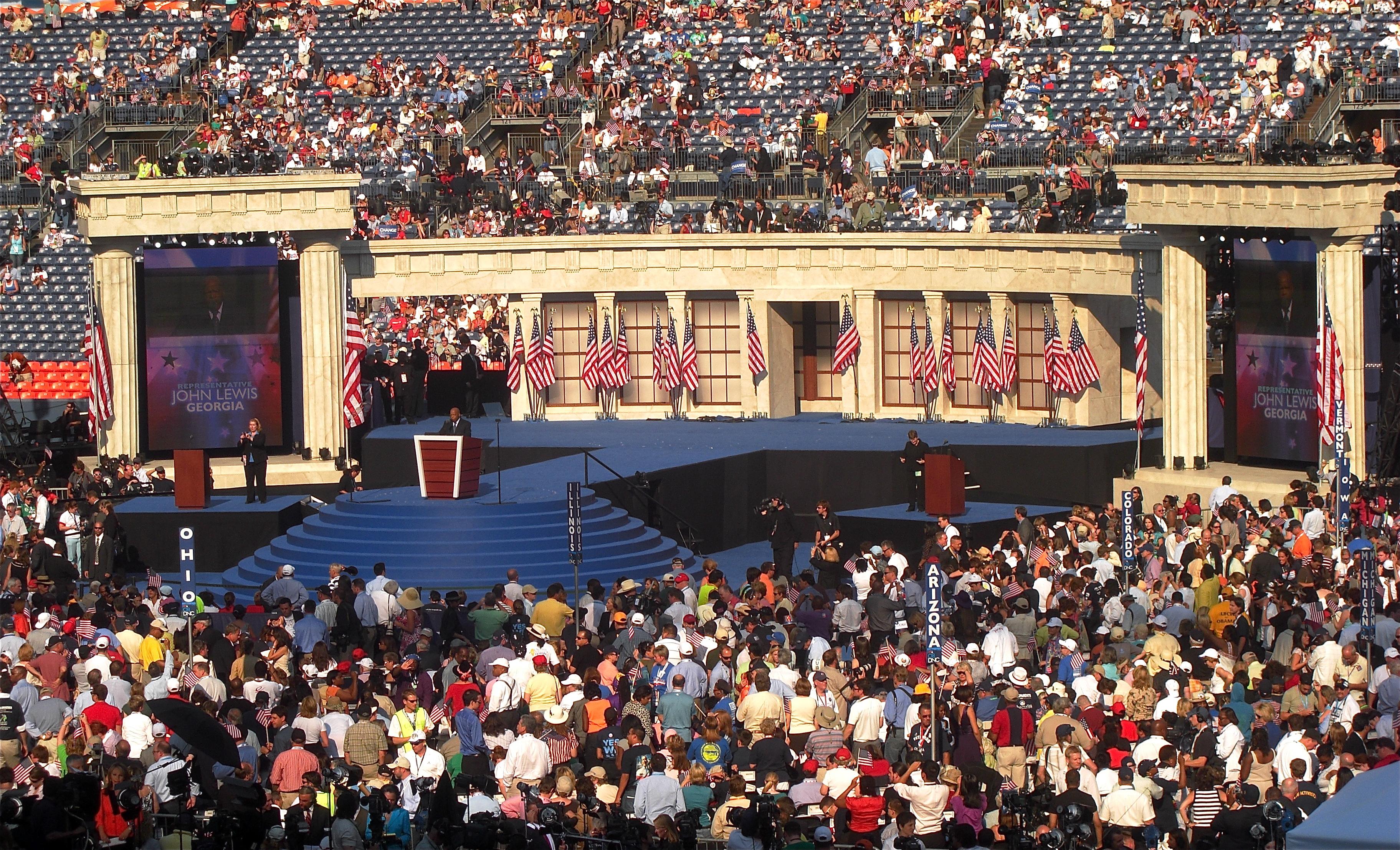 Democratic convention 2008