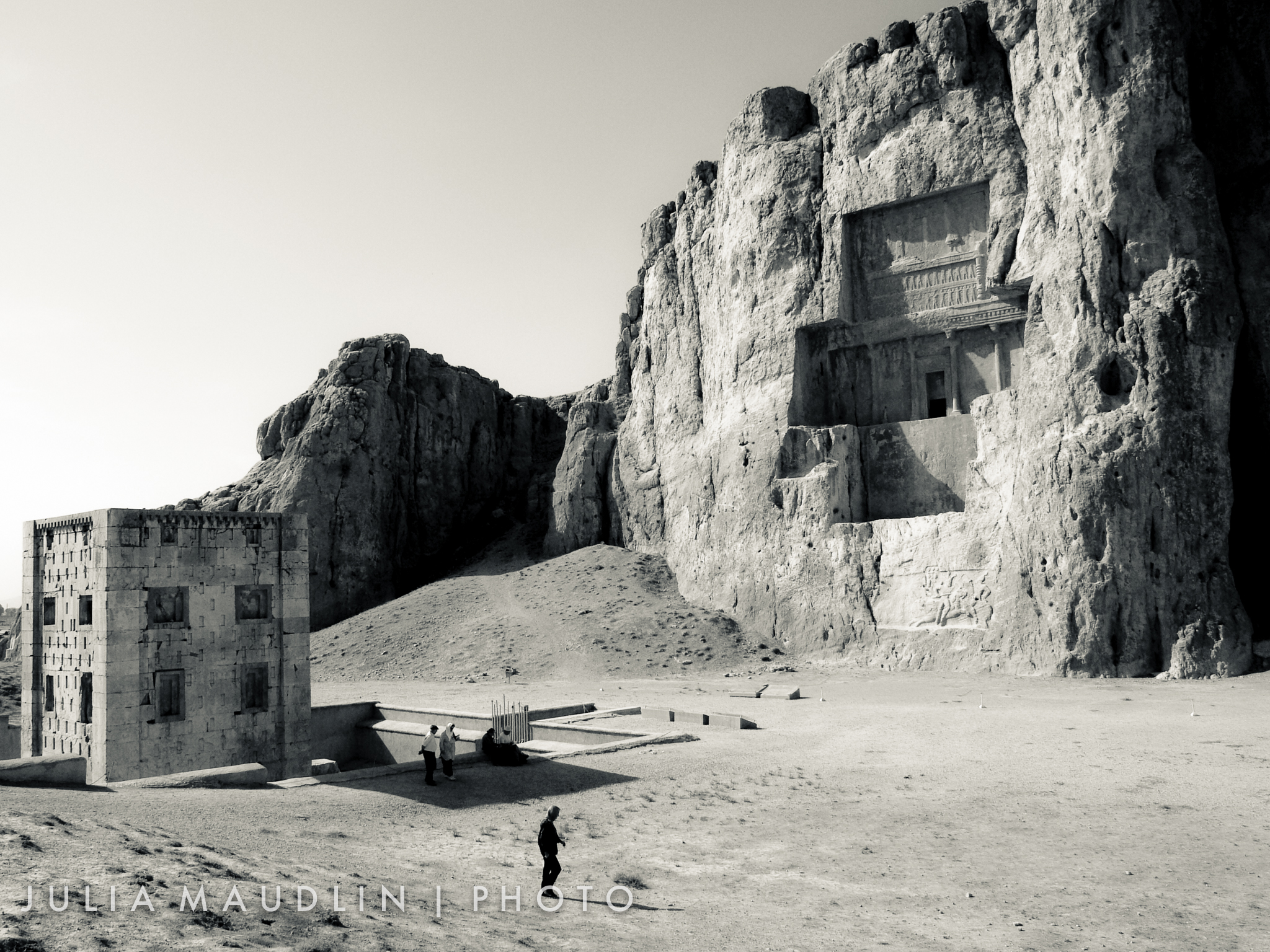 Ba Stock Chart: Ka7ba-ye Zartosht and Achaemenid Tombs Naqsh-E Rostam Iran ,Chart