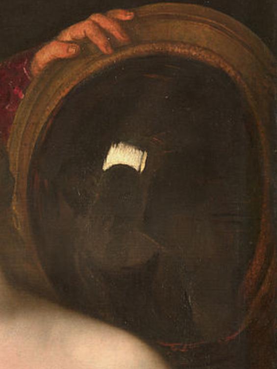 Fichier la femme au miroir d tail du wikip dia for Au dela du miroir