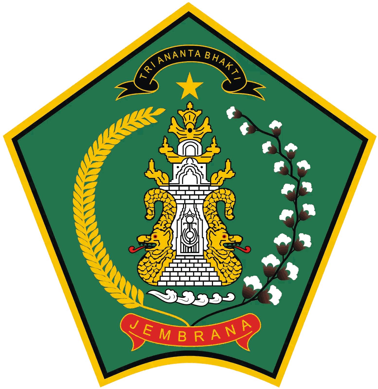 Berkas Lambang Kab Jembrana Png Wikipedia Bahasa Indonesia Ensiklopedia Bebas