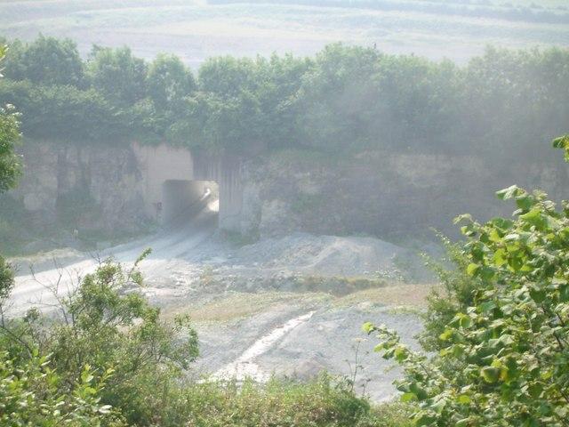 Lea Quarry - geograph.org.uk - 200852