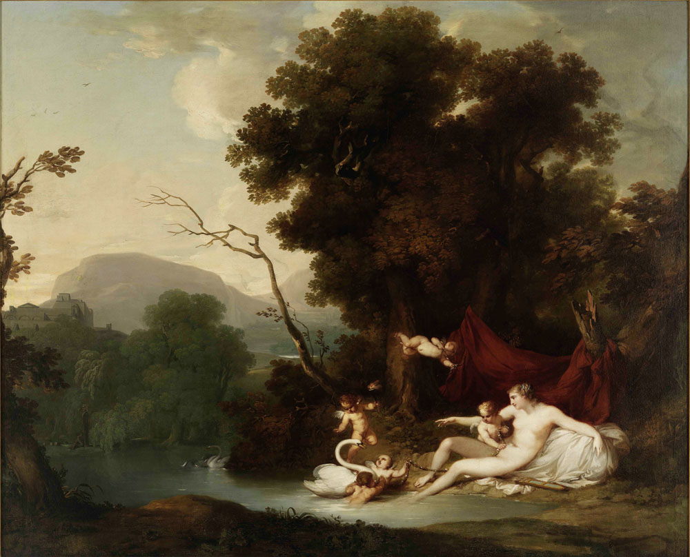 Leda e o Cisne (Vieira Portuense) – Wikipédia, a ...