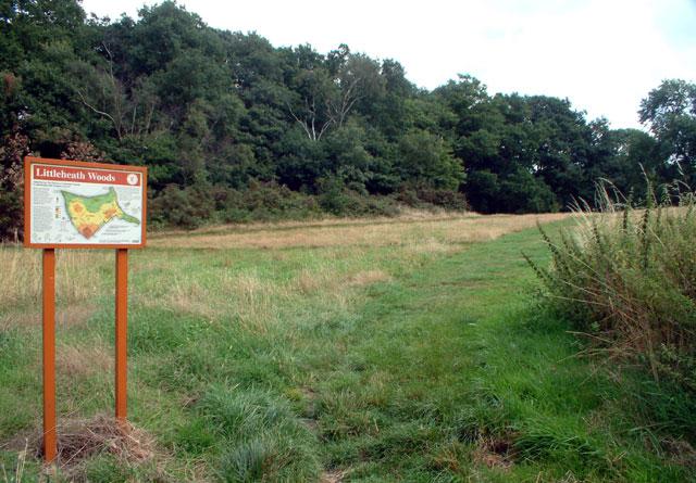 Littleheath Woods, Selsdon - geograph.org.uk - 38311