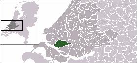 Nissewaard Municipality in South Holland, Netherlands