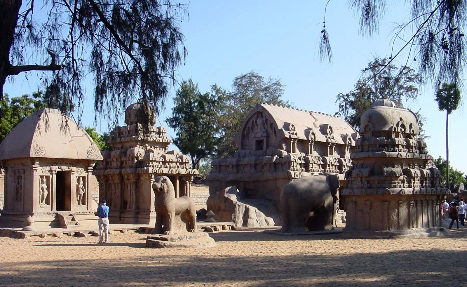 पंचपाडव रथ, मम्मलापुरम, तमिलनाडु
