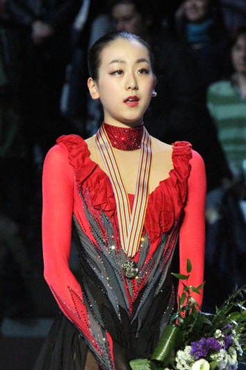 Mao Asada 2010 Worlds