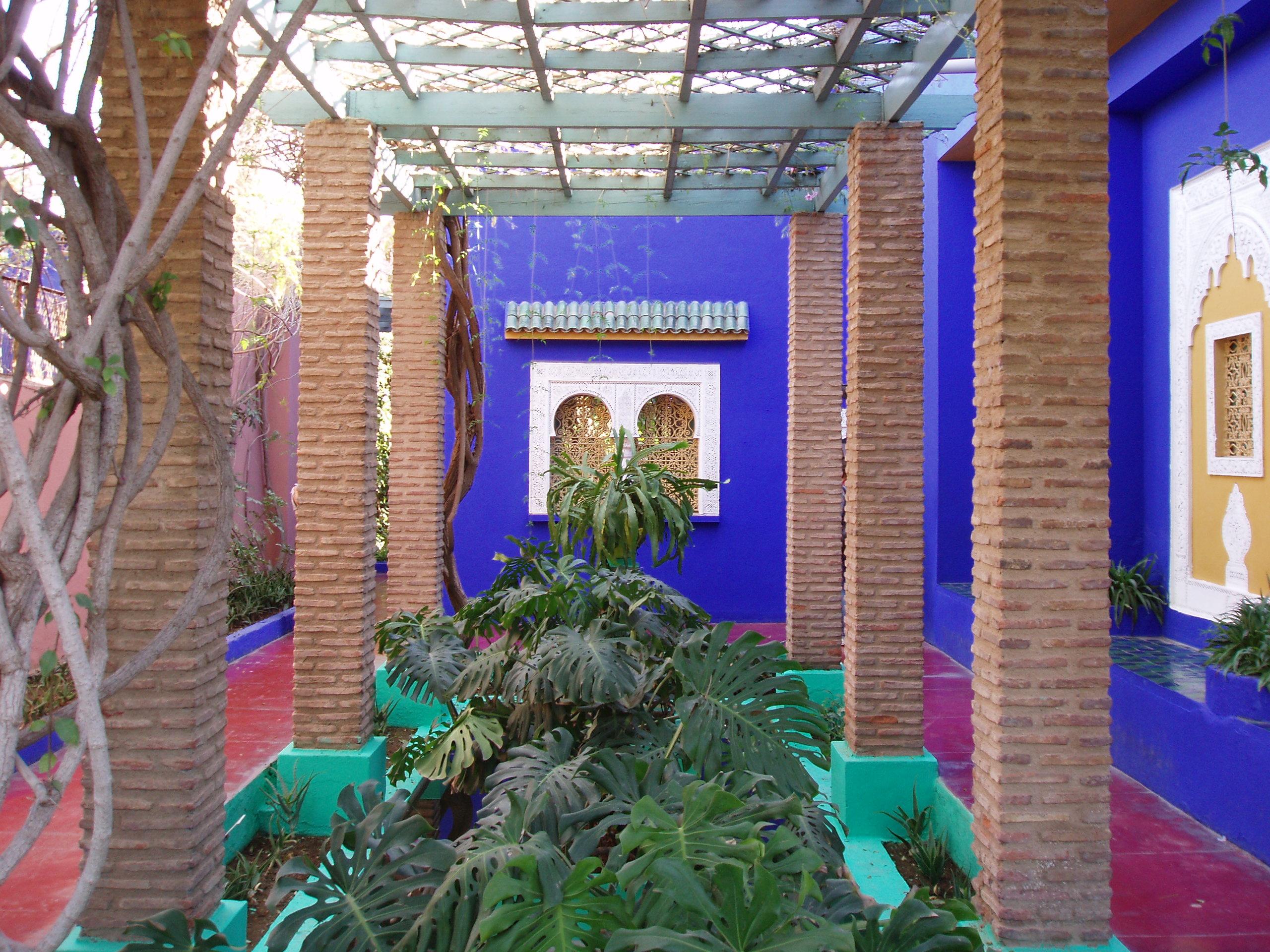 ملفmarrakech Majorelle Garden 315jpg ويكيبيديا