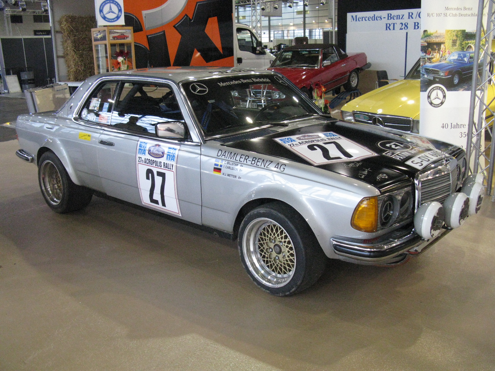 File mercedes benz 280 ce rally ingvar carlsson for Rally mercedes benz
