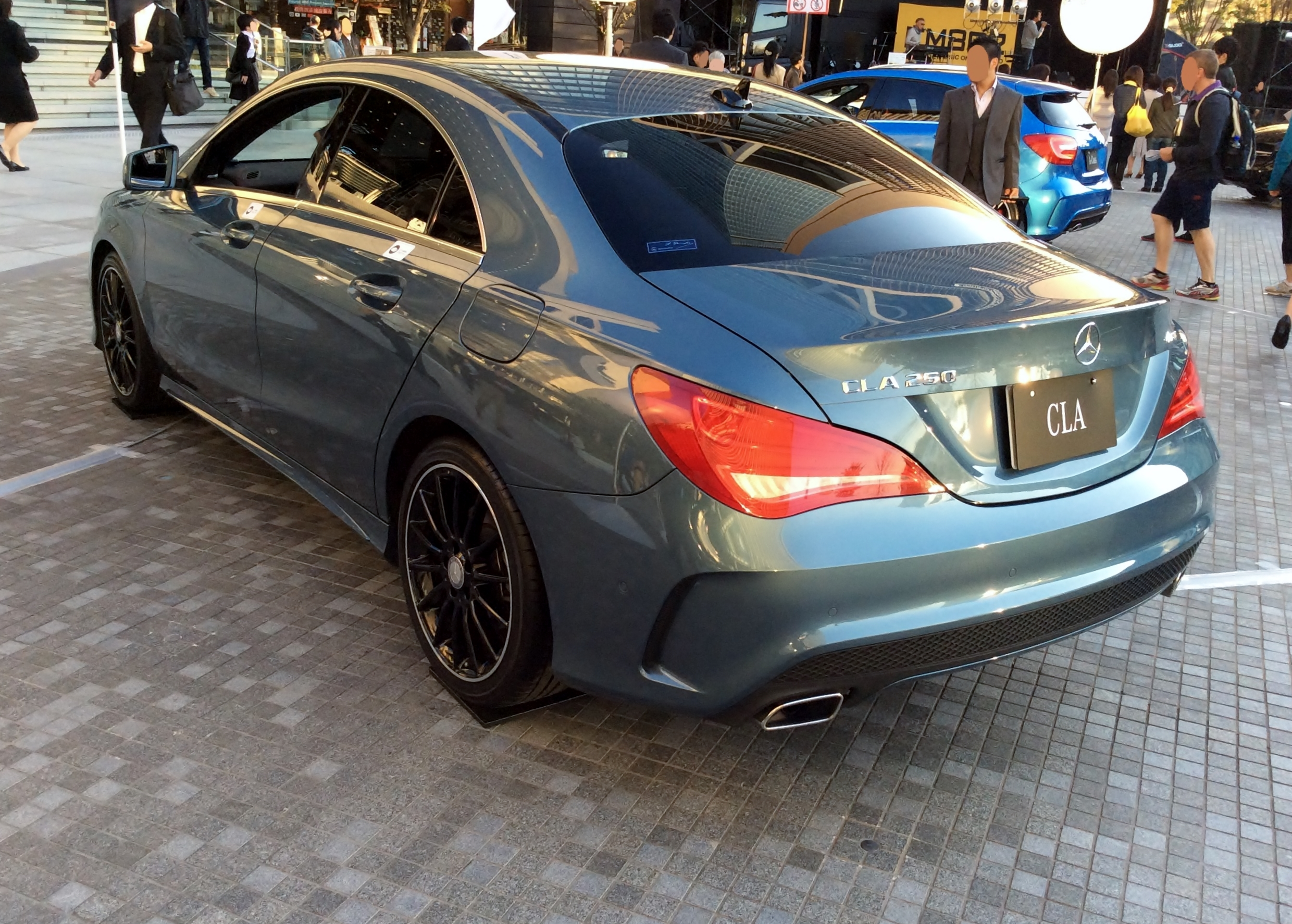 mercedes blog limited cla slip benz the undercover