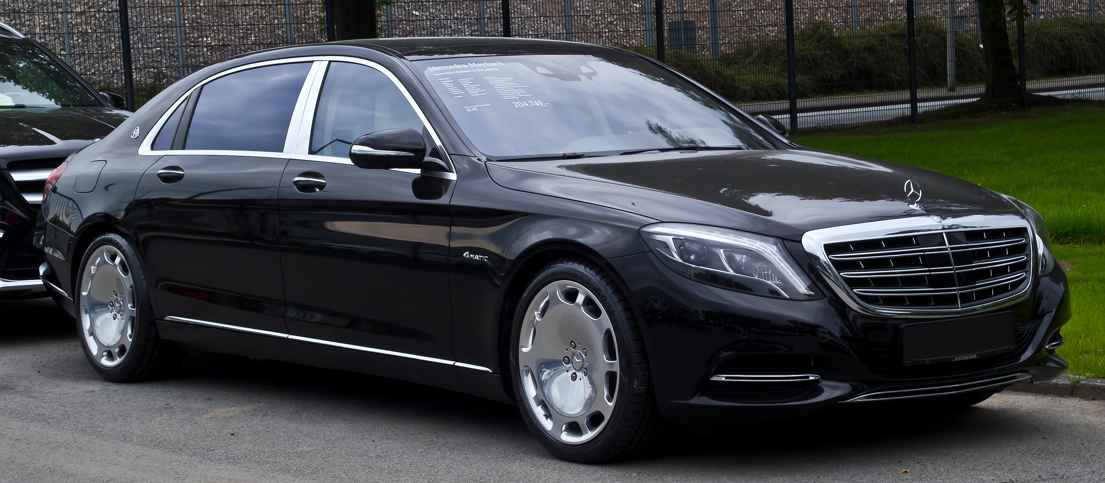 file mercedes maybach s 500 4matic x 222 frontansicht 14 september 2015 m. Black Bedroom Furniture Sets. Home Design Ideas