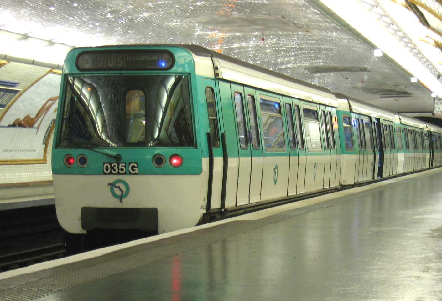 Photos d'avant guerre Metro-Paris-Rame-MF77-ligne