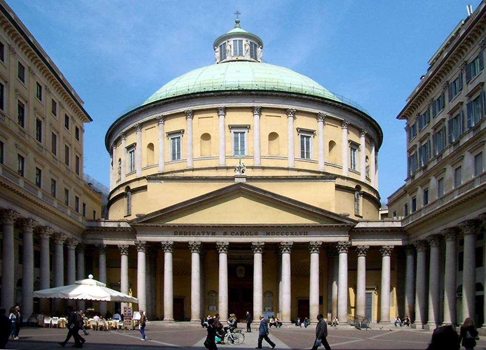 Chiesa di san carlo al corso milano wikipedia for Corso stilista milano