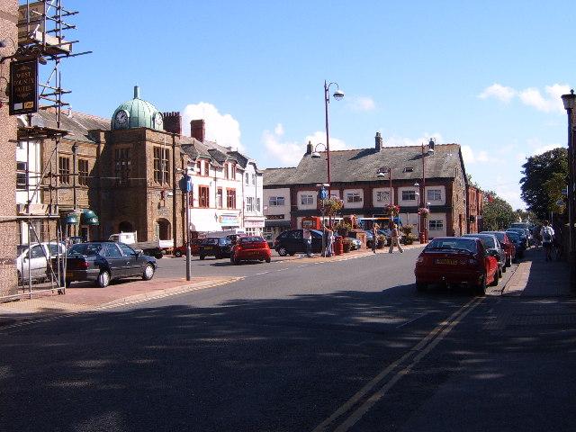 Millom market place - geograph.org.uk - 48732