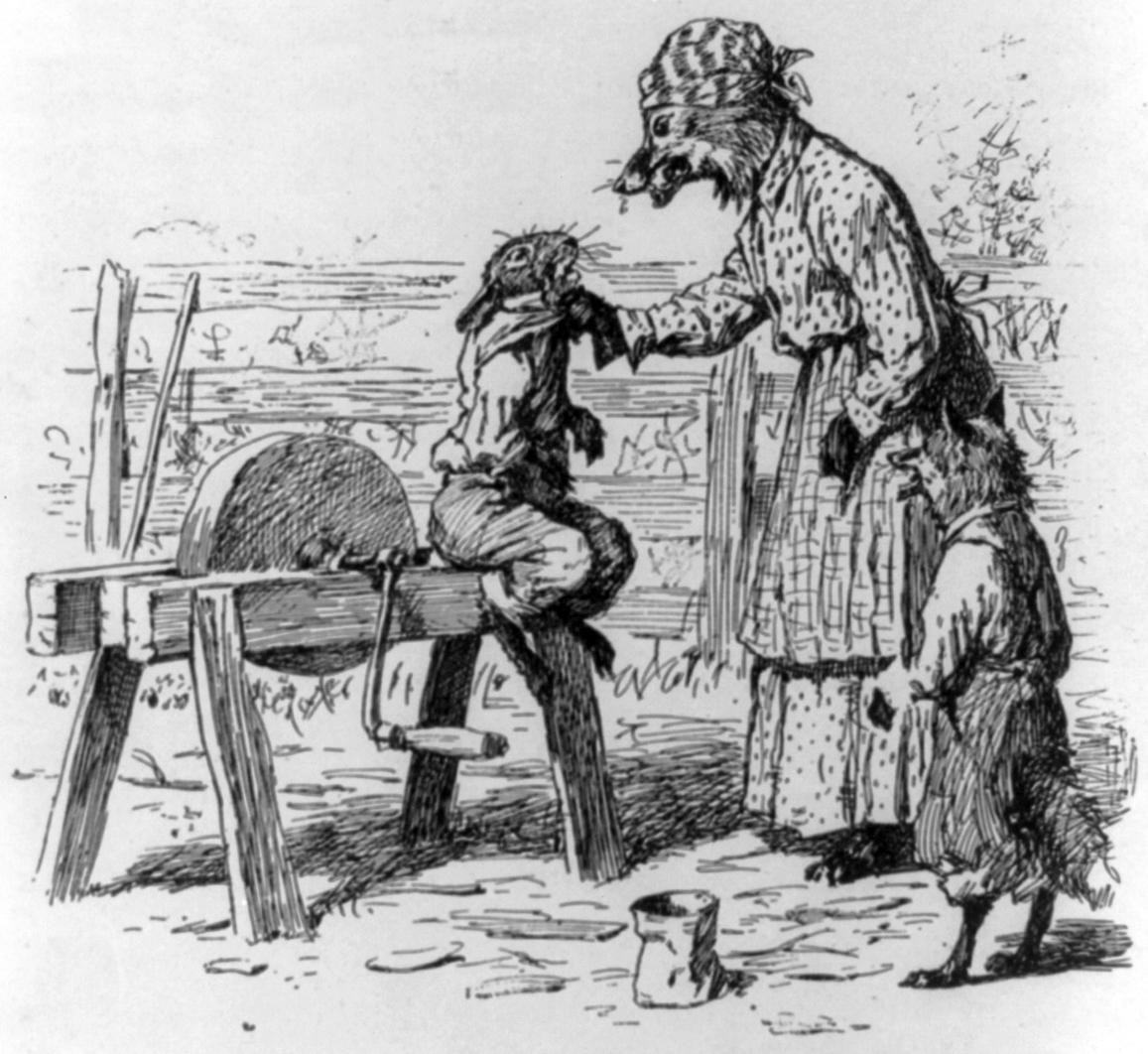 History of Brer Rabbit Holding Brer Rabbit by The