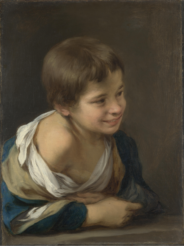 File:Murillo-niño asomado a la ventana.jpg
