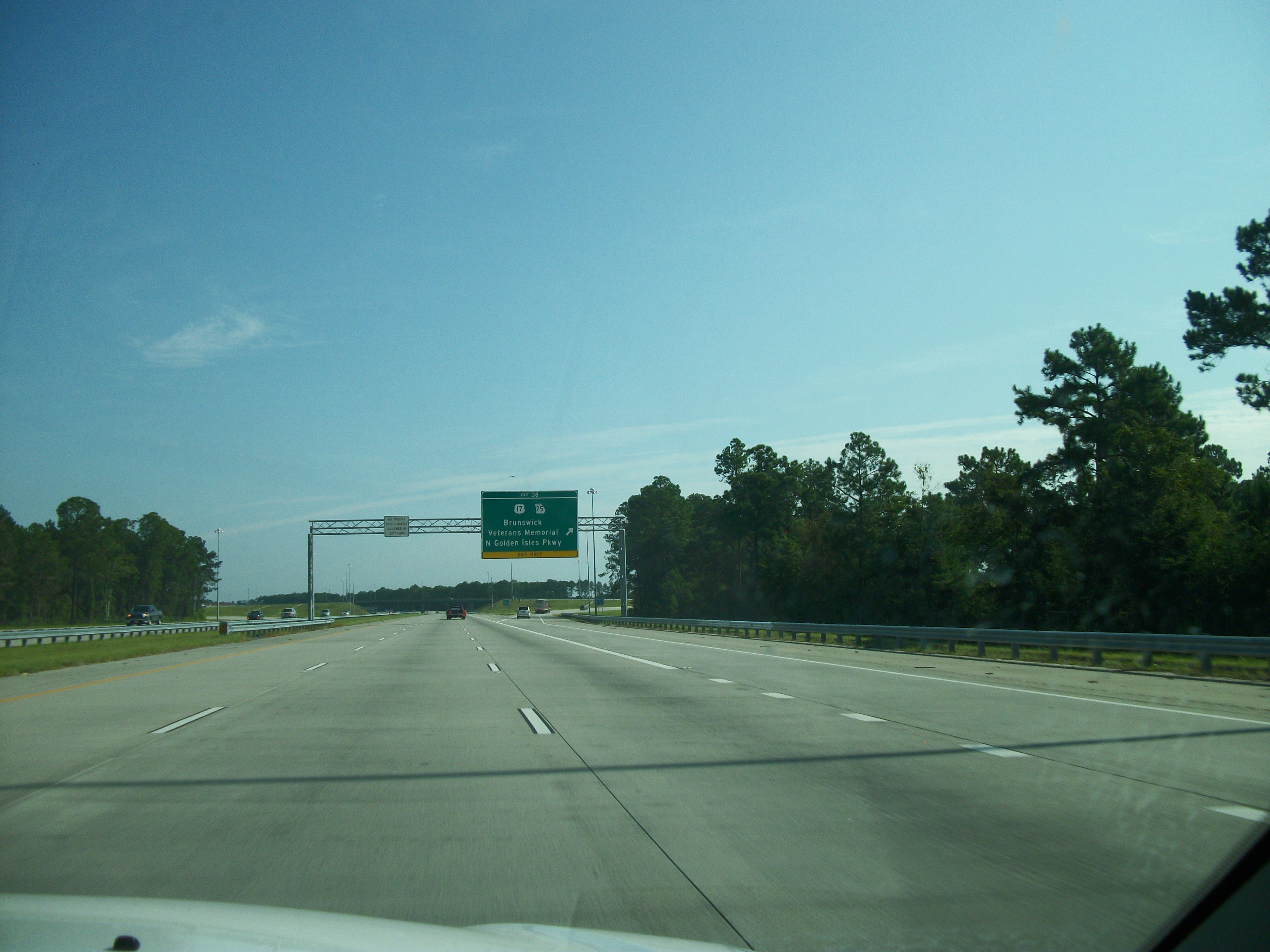 File:NB I-95 @ Exit 38...I 95 Exit 29 Georgia