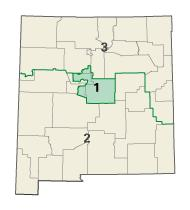 New Mexico districts in these elections